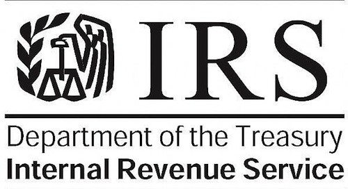 IRS Department of the Treasury Logo