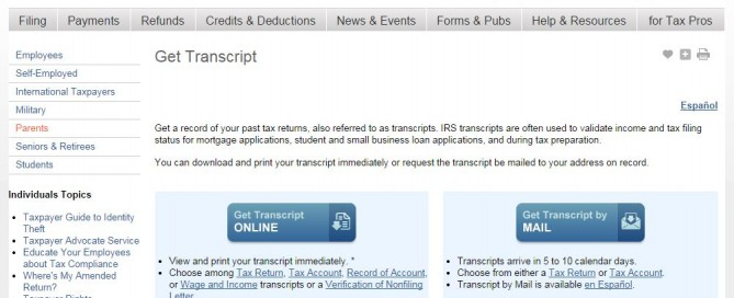 IRS transcript Archives - Optima Tax Relief