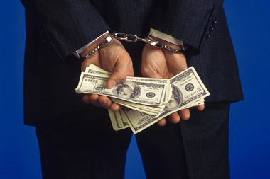 in cuffs